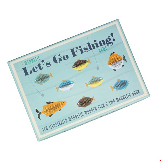 Magnetic Let's Go Fishing Game Activity - Meli & Ro | Kids Activity Packs