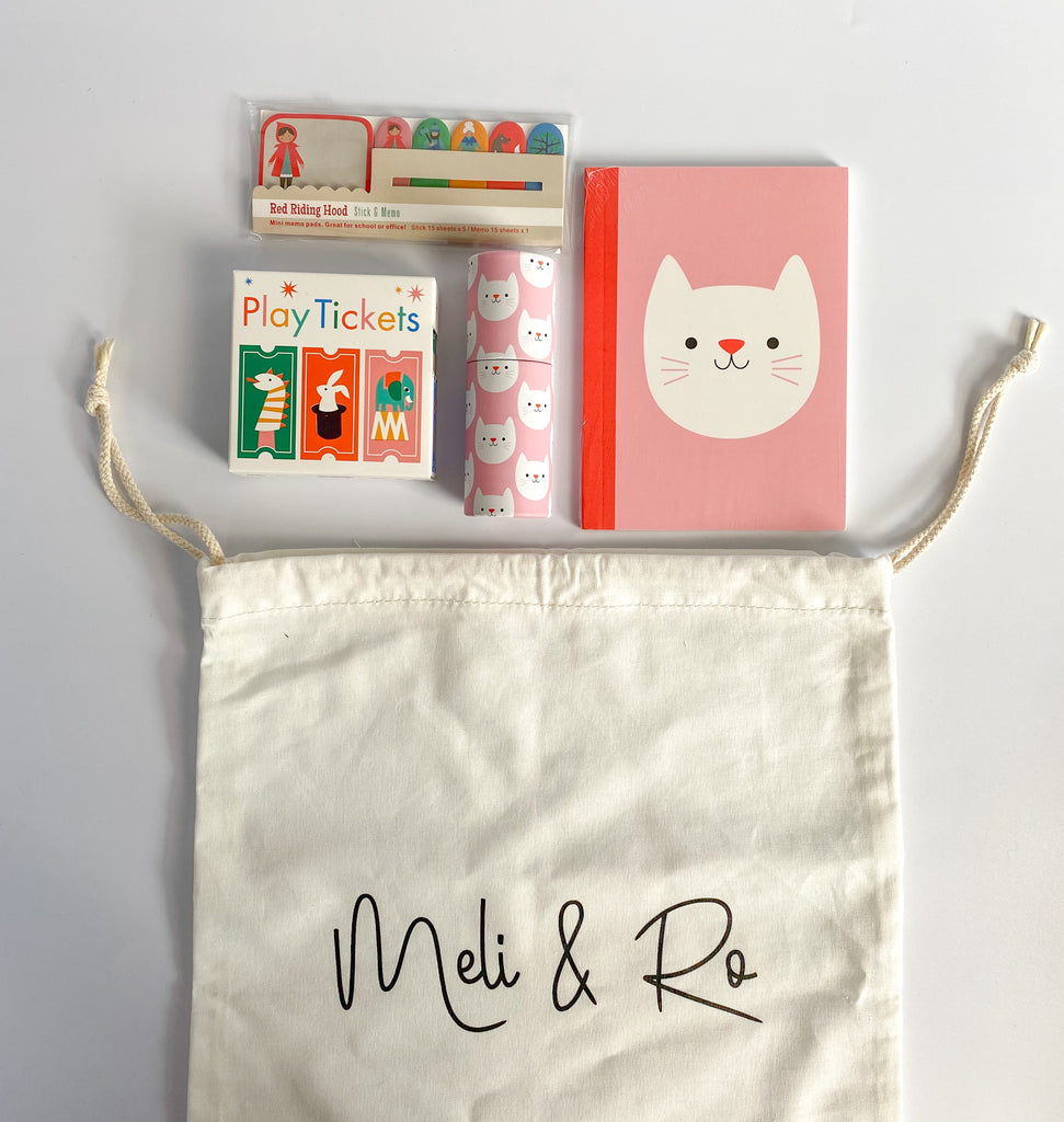 Cookie The Cat Busy Bag - Meli & Ro | Kids Activity Packs