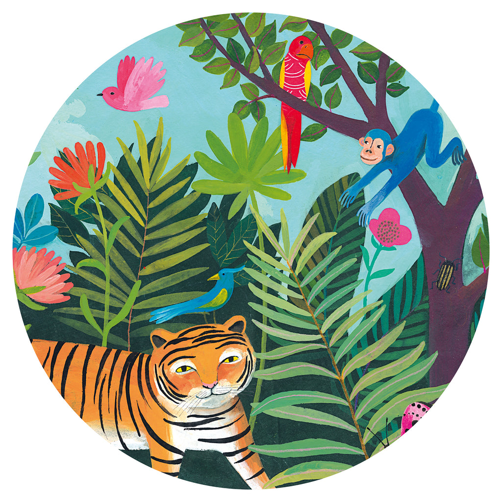 Djeco Puzzle - The Tiger's Ride - Meli & Ro | Kids Activity Packs