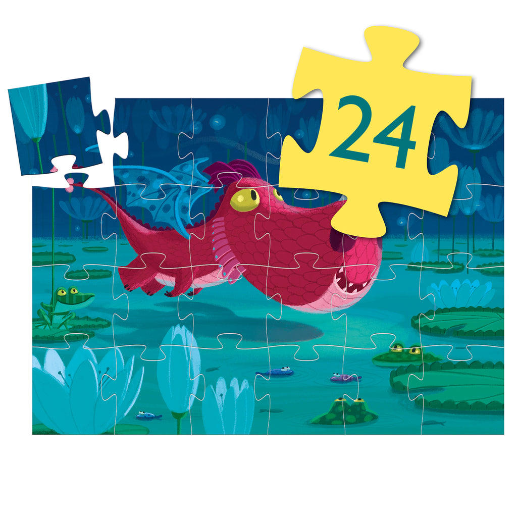 Djeco Puzzle - Edmund The Dragon - Meli & Ro | Kids Activity Packs