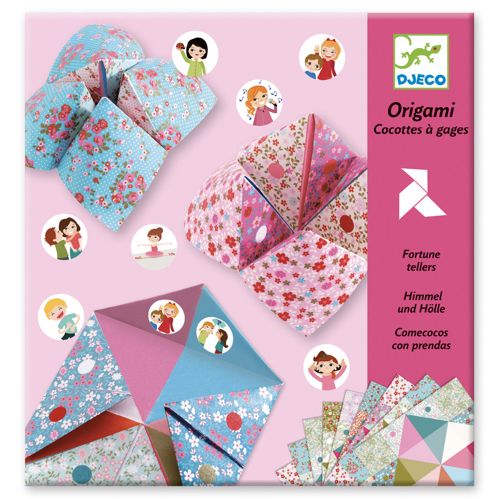 Djeco Fortune Tellers - Flowers - Meli & Ro | Kids Activity Packs