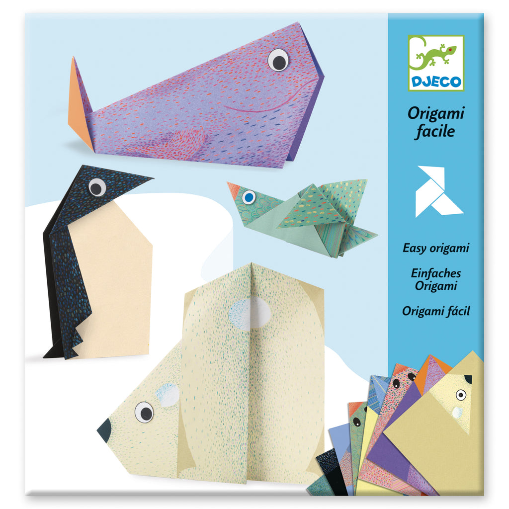 Djeco - Easy Origami - Meli & Ro | Kids Activity Packs