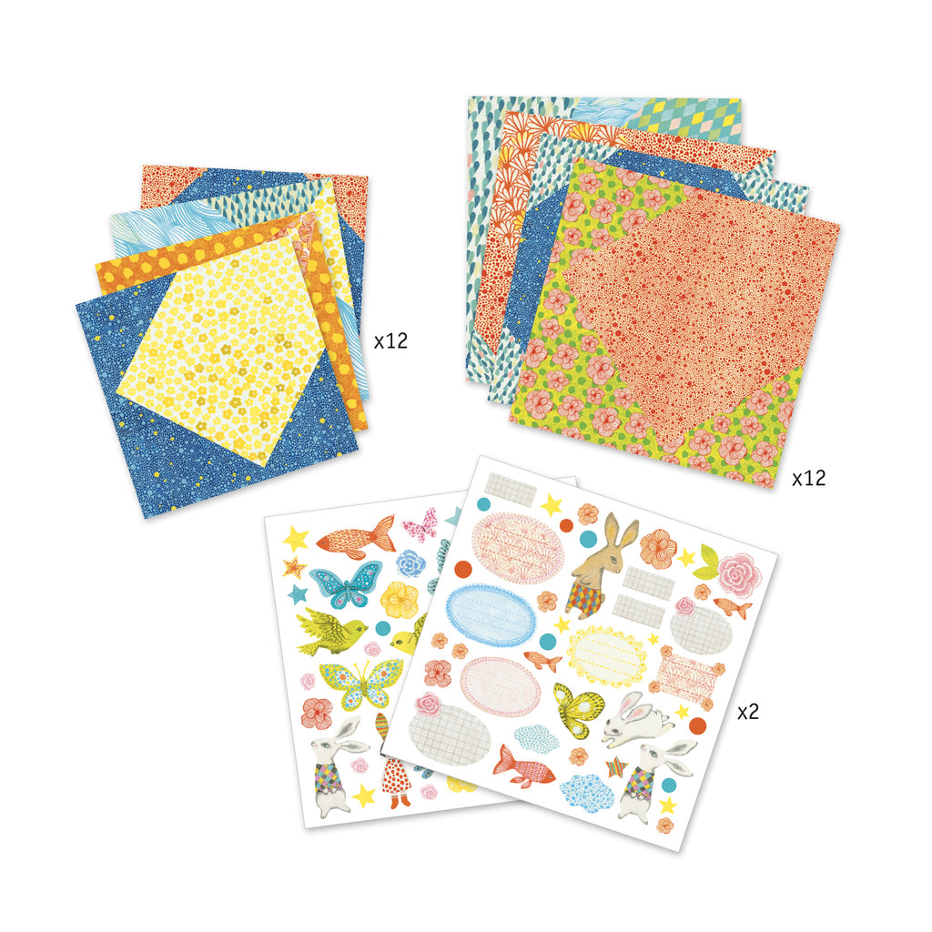 Djeco - Little Envelopes - Meli & Ro | Kids Activity Packs