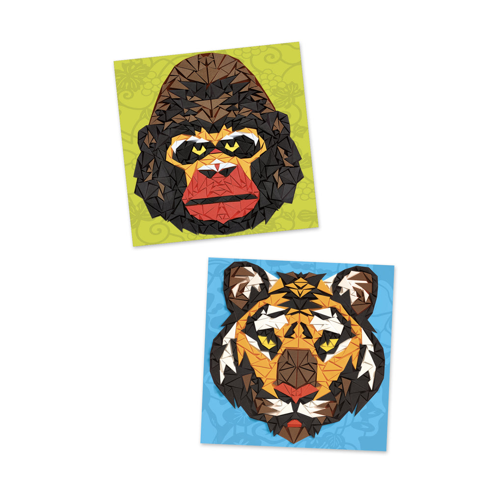 Djeco Mosaics - Khan - Meli & Ro | Kids Activity Packs