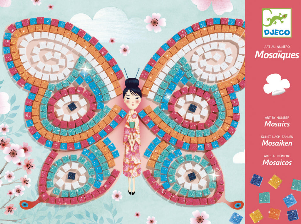 Djeco Mosaics - Butterfly - Meli & Ro | Kids Activity Packs