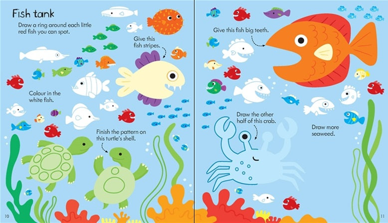 Little children's activity book - Meli & Ro | Kids Activity Packs