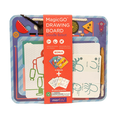 MagicGO Drawing Board - Doodle Robot - Meli & Ro | Kids Activity Packs