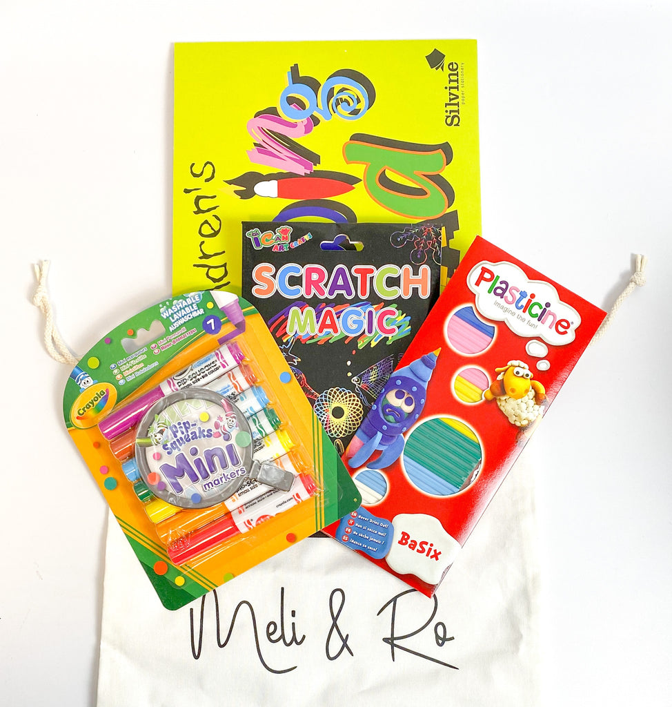 Mini Arty Bag - Meli & Ro | Kids Activity Packs
