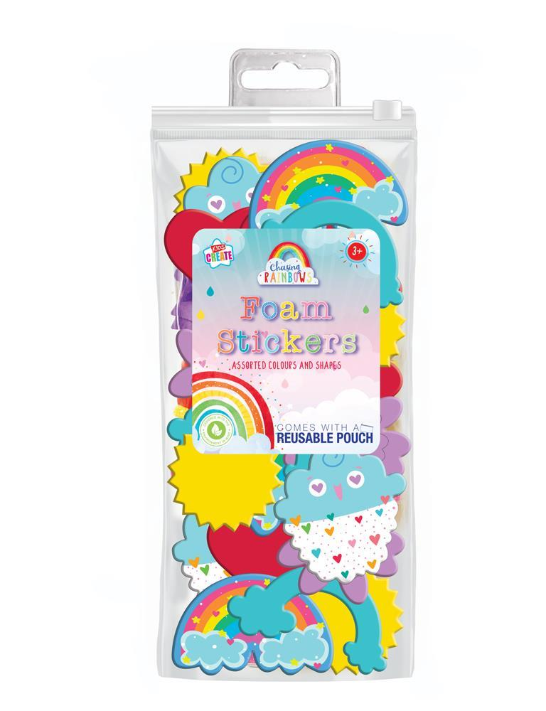 Rainbow Foam Shapes - Meli & Ro | Kids Activity Packs