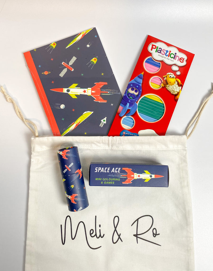 The Mini Space Busy Bag - Meli & Ro | Kids Activity Packs