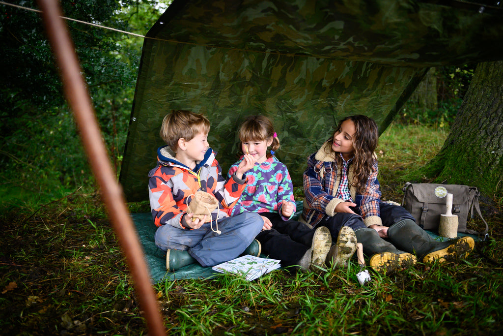 The British Woodland Den Kit - Meli & Ro | Kids Activity Packs