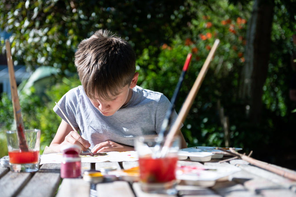 The Natural Fabric Children's Art Kit - Meli & Ro | Kids Activity Packs