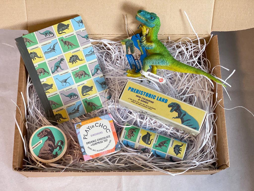The Velociraptor Gift Set - Meli & Ro | Kids Activity Packs