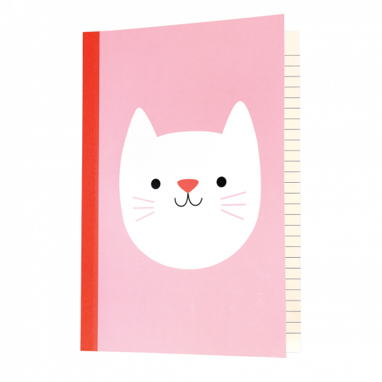Cookie The Cat A5 Notebook - Meli & Ro | Kids Activity Packs