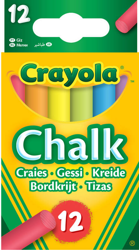 Crayola 12 Chalks - Meli & Ro | Kids Activity Packs