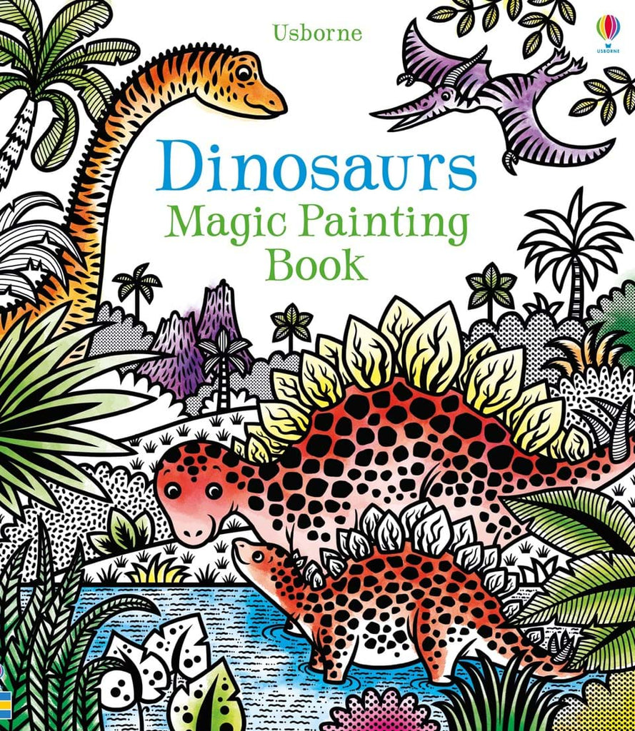 Dinosaurs magic painting book - Meli & Ro | Kids Activity Packs