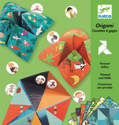 Djeco Fortune Tellers - Animals - Meli & Ro | Kids Activity Packs