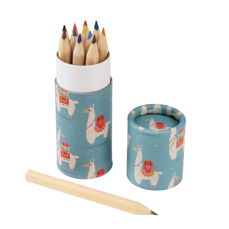 Dolly Llama Colouring Pencils - Meli & Ro | Kids Activity Packs