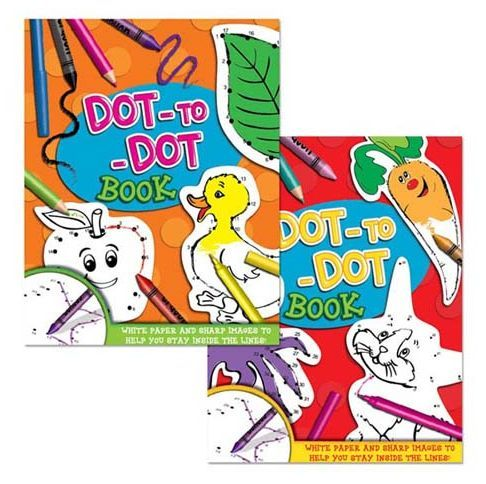 Dot to Dot Puzzle Book - Meli & Ro | Kids Activity Packs