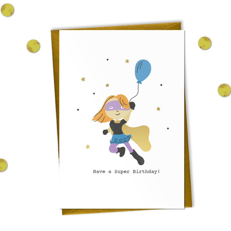 You Are Super! - Birthday Card - Meli & Ro | Kids Activity Packs