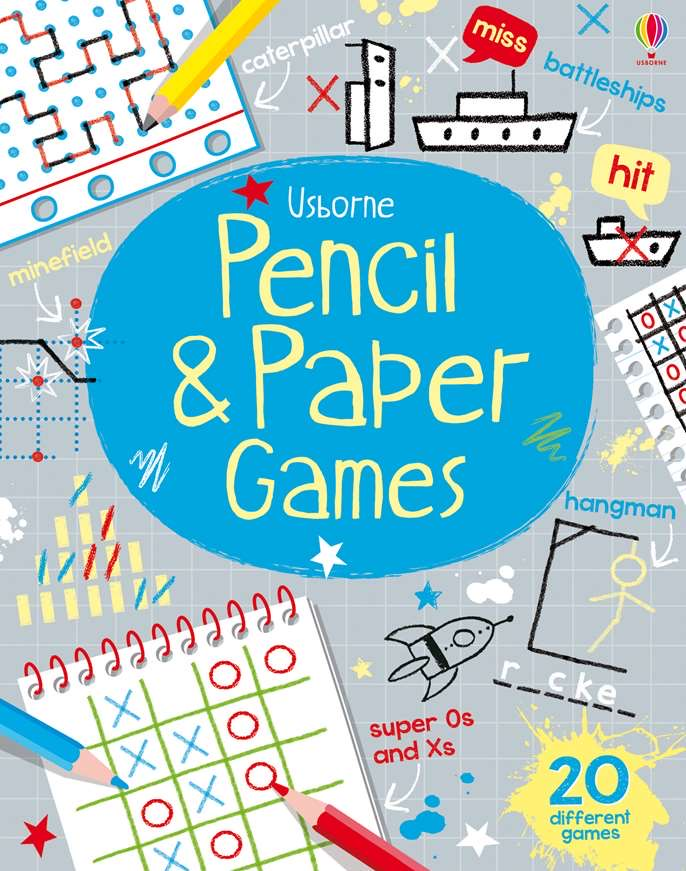 Pencil and paper games Activity book - Meli & Ro | Kids Activity Packs