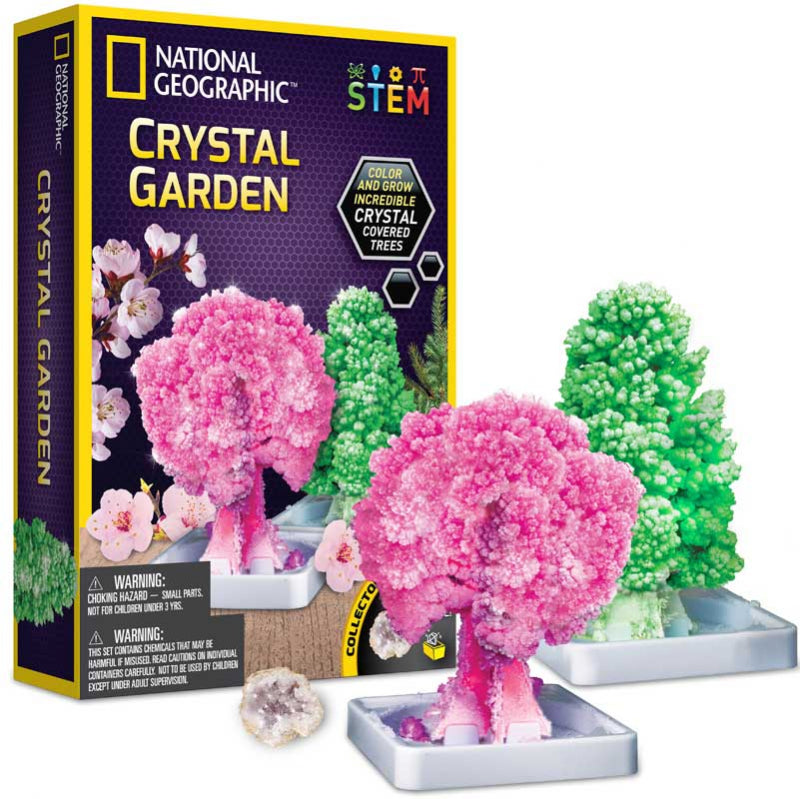 National Geographic Crystal Garden - Meli & Ro | Kids Activity Packs