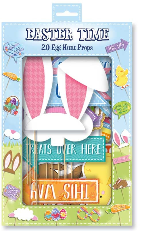 20 Easter Eggs Props - Meli & Ro | Kids Activity Packs
