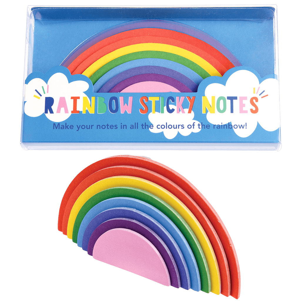 Rainbow Sticky Notes - Meli & Ro | Kids Activity Packs