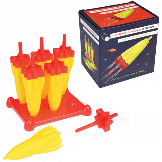 Space Age Rocket Ice Lolly Moulds - Meli & Ro | Kids Activity Packs