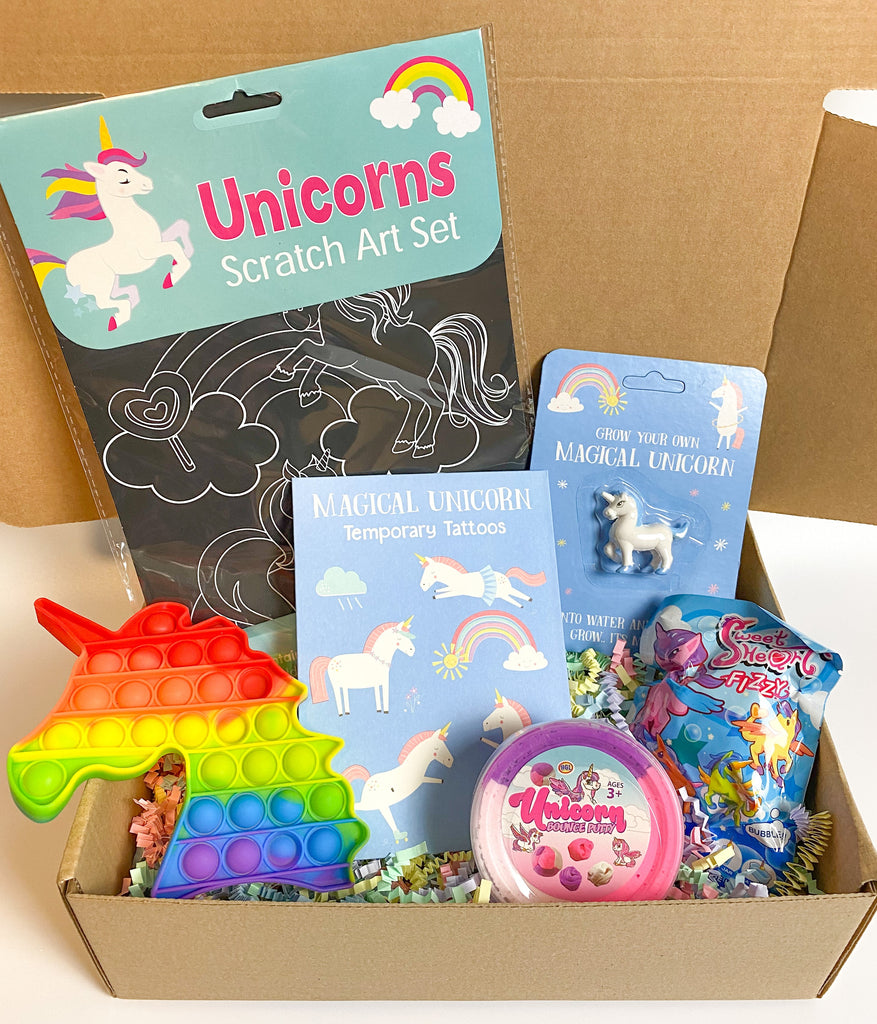 Unicorn Gift Box - Meli & Ro | Kids Activity Packs