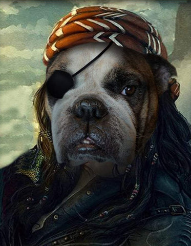 Pet Portrait - Pirate #2