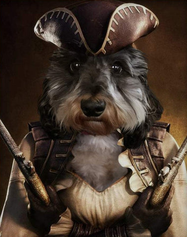 Pet Portrait - Female Pirate #2