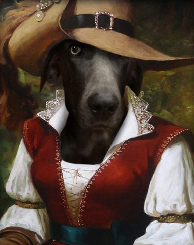 Pet Portrait - Female Pirate #3