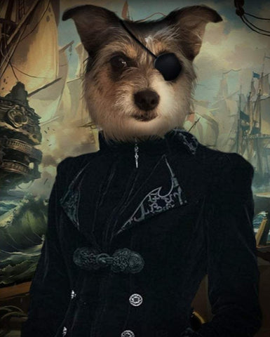 Pet Portrait - Pirate #4