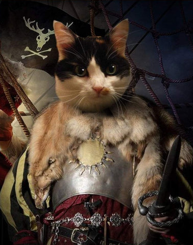 Pet Portrait - Female Pirate #4
