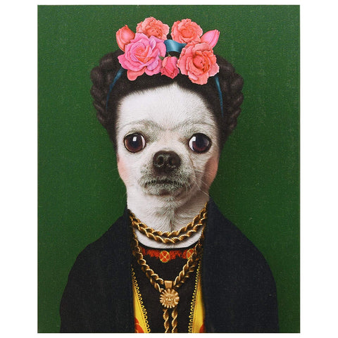 Pet Portrait - Frida Kahlo