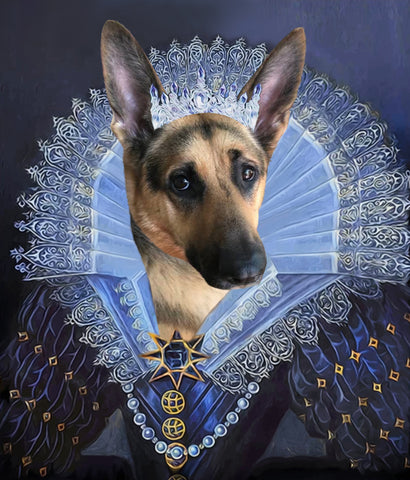 Royal Pet Portrait - F8