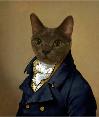 Royal Pet Portrait - M8