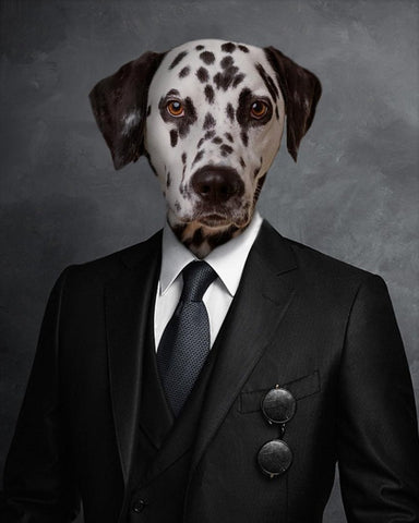 Pet Portrait - Suit Up #1