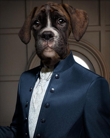 Pet Portrait - Suit Up #3