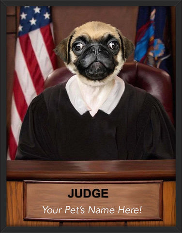 The Judge (Custom Text)