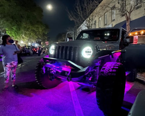 Jeepin' With Judd Show N' Shine in Downtown Bartow, FL