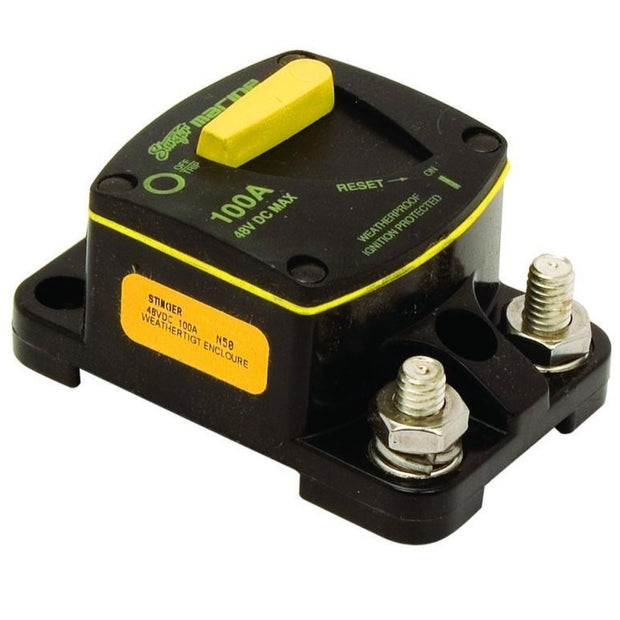 Liquid/Mud/Dust resistant 100 AMP Circuit Breaker