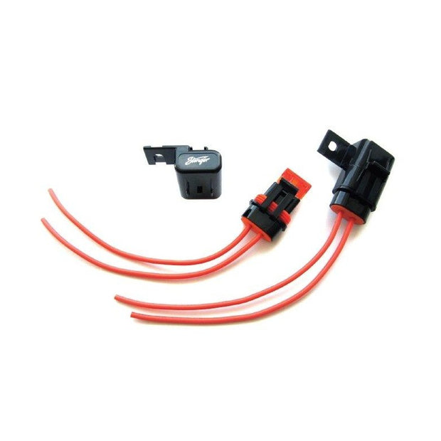 Liquid/Mud/Dust Resistant Certified ATC Or ATM Fuse Holder - 16AWG