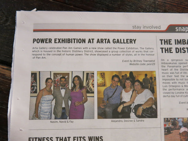 Snapd St Lawrence Coverage of Power! - July 29, 2015
