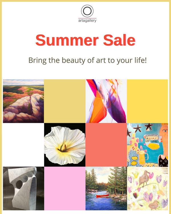 Summer Sale - Bring the Beauty of Art to Your Life!