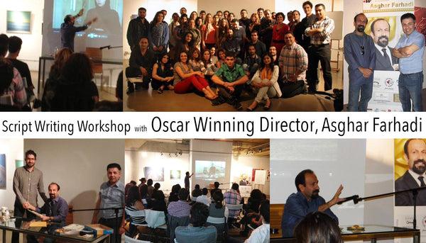 Script Writing Workshop with Oscar Winning Director, Asghar Farhadi - Sep 16, 2013