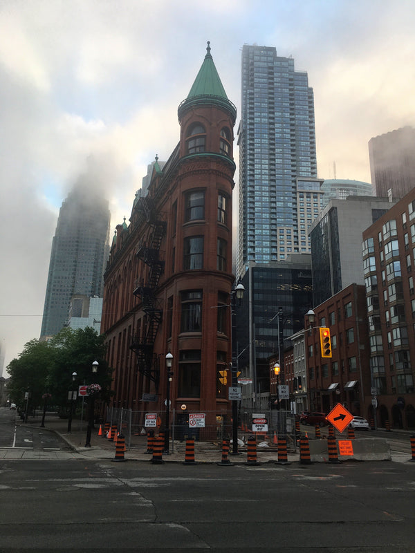 Gooderham Building aka the  Flatiron Building aka the Coffin Block Building