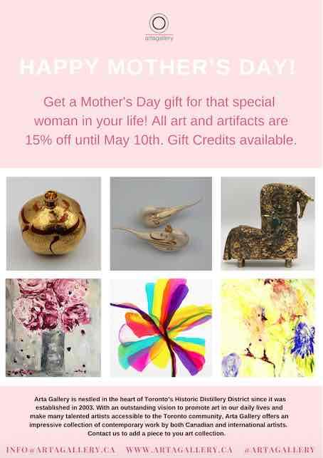 A GIFT OF ART FOR MOTHERS DAY - April 30 - May 10, 2020