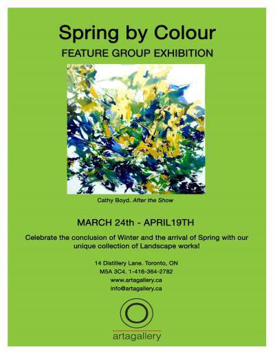 "SUBMISSIONS FOR ""SPRING BY COLOUR"" CLOSED - Mar 17, 2016"